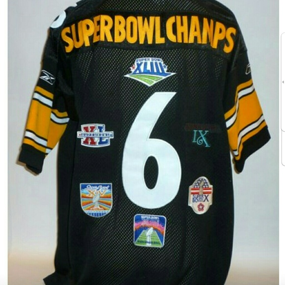 Champs Super Nwt Steelers Jersey Bowl Pittsburgh